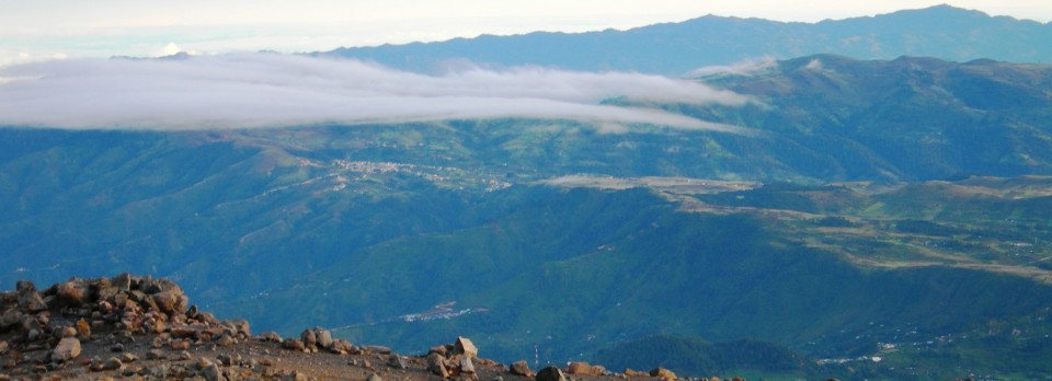 Brigade i bjergene i Nicaragua