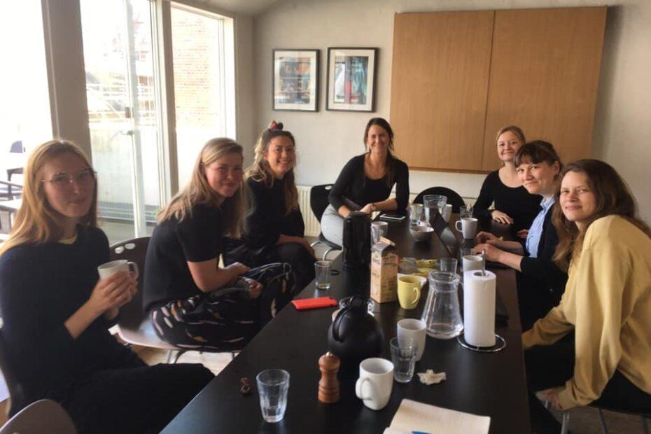 billede af lokal gruppemøde i Aarhus med FU og landssekretær