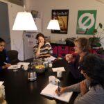 REMO-kvinderne på besøg på Christiansborg